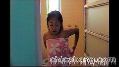 Areli in the Shower