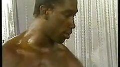 Gay Porno - Black Men - Gym Gang Bang (Bareback)