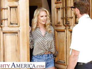 Virgin babbysitter pussy cunt cock Naughty america - rachael cavalli fucks a virgin friend of h