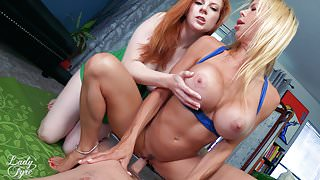 Step Moms Impregnated on Mother's Day Alexis Fawx & Lady Fyre
