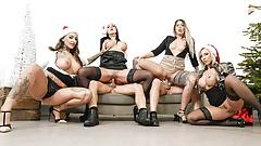 LETSDOEIT - Hot Office Fuck Fest Christmas Party - Part 2.