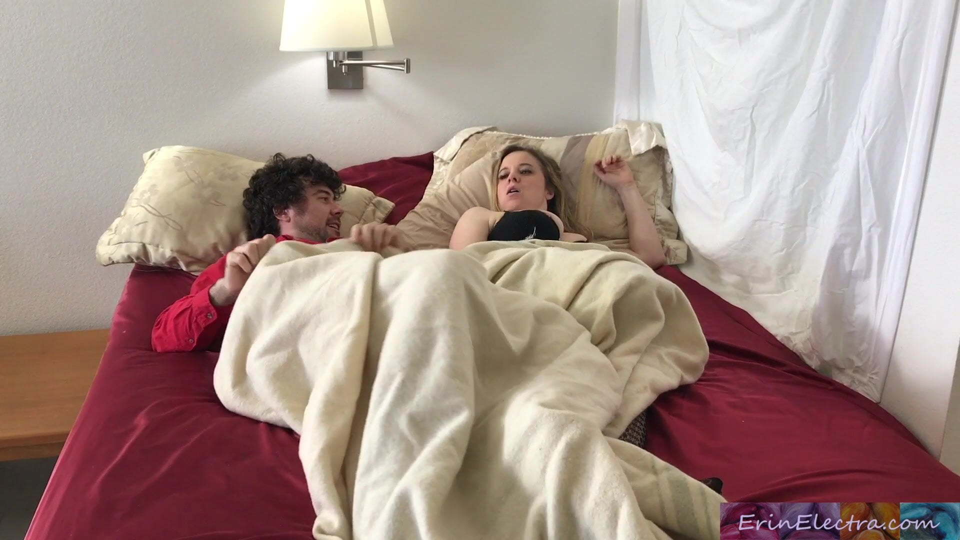 Step Son Fucks Step Mom Bed