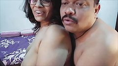 Mallu Couple sex on webcam