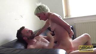 PASCALSSUBSLUTS - Babe Luna Toxxxic Fed Jizz After BDSM Fuck