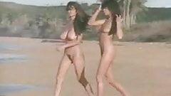 Сексуальные девушки с большими сиськами обнаженные на пляже