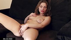 Barefoot And Hairy Single Young Mommy Nadine Fingering Cunt