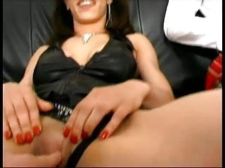 First time anal threesome homemade French redhead in her first time anal - it gets loud
