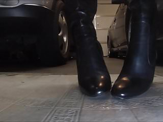 Cum on boots fetish - Boots cummed on