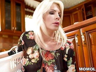Sexy stepmom sex her son Blonde stepmom cant discipline her horny son
