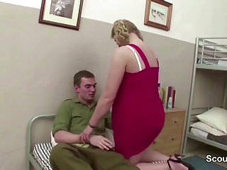 Mature seduced teacher - Female milf teacher seduce young boy to fuck on excurse