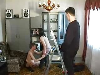 Orgy party pesta seks - Russian bisexual orgy party 3
