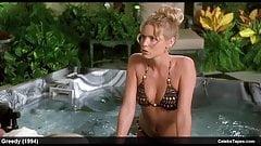 Nancy Travis и Olivia D'Abo сексуальные сцены в бикини