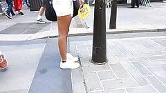 Sexy teen ass puerto rican day parade candid street butt