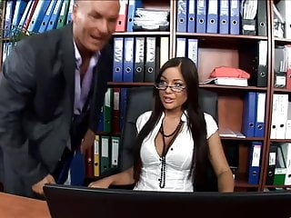 Anal secretaries Hot secretary fucked in thigh highs and high heels