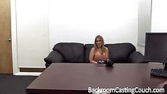 Big Tit MILF, Assfuck on Casting Couch