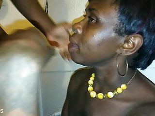 African sluts video - This african slut exchanging her throat