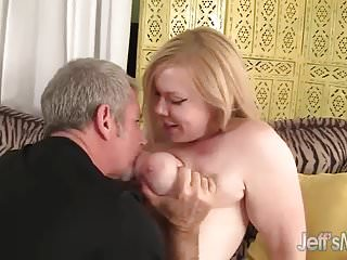 Ass blonde plump spread Plump blonde bounces up and down on a thick cock
