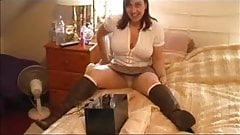 Sally and her fucking machine