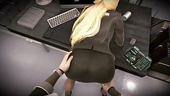 Fucked his secretary right on the desk during a break