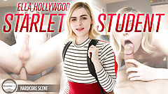 (EXTENDED) GroobyVR: Ella Hollywood - Starlet Student