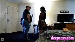 Sex mit Lieferbote - versteckte Kamera