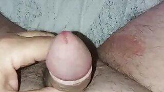 Me my little dik and cum