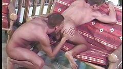 Gay men hump ass and suck dick