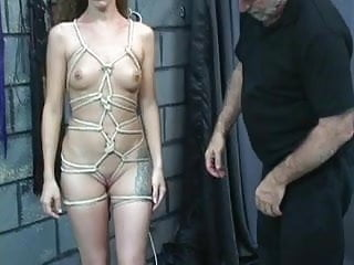Bdsm female interrogation stories - Teen is naked and interrogated on an strange place by and old dude