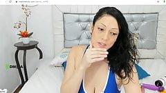amazing mature milf latina with massive tits
