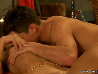Sexy couple love making - Intimate love making of a couple