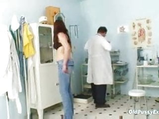 Girls getting pussy exam by doctor Bushy pussy wife karin real gyno clinic exam