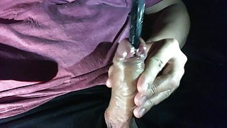 URETHRAL PLAY, DEEP PEEHOLE INSERTION PINK COCK