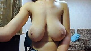 Myla huge boobs