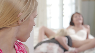 Stepmom is jealous of the hot maid