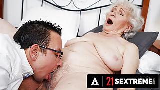 Big Dick Stud Takes Granny To Pleasuretown