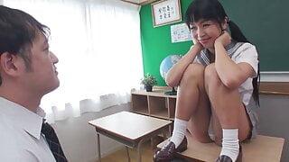 Marica :: Once Again On A School Desk 2 - CARIBBEANCOM