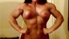 Db, seins nus, webcam, flexion 3