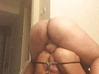 Crossdressers fucking - Crossdresser melda fucked by muscle stud doggy hardcore