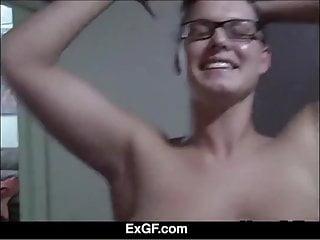 Ex gf blowjob thumbs Exgf amazing fuck