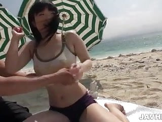 Love hina hentai videos - Sun loving japanese honey hina maeda eating dick on the