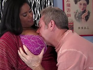 Ebony pussy being fucked Busty ebony bbw loves being pounded by his white cock