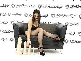 British porn video Thug dildo from john thomas toys fucks british porn babe