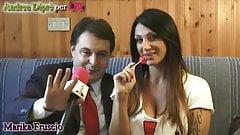 Marika Fruscio si confessa con Andrea Dipre
