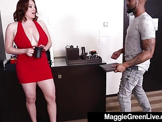Fucking for pay raise - Full figured blonde maggie green fucks boss for a raise