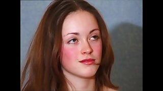 Russian teen Julia rough casting