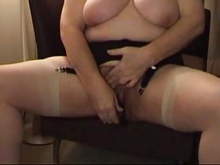 Hot sex for ladies Very hot mature busty lady with dildo