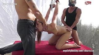 My Dirty Hobby - Crazy-Sophia die Fick Sklavin