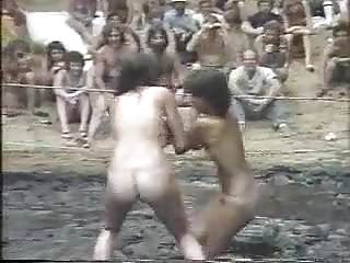 Nude ladies big butts - Nude ladies mud wrestle