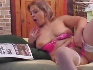 Busty lady next door - Real mature lady next door