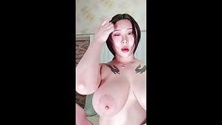 Busty webcam